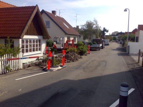 Støttemur i marksten gilleleje   støttemure m.m.   brolÆgning ...