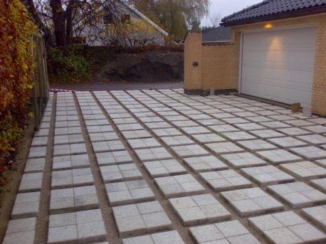 """Rådhus belægning """"hørsholm""""   betonfliser   brolÆgning, terasse og ..."""